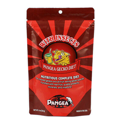 Pangea Fruit Mix With Insects - Complete Gecko Diet / Gecko Food