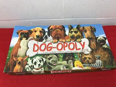 Dog Opoly Tail Wagging Property Trading Game Age 8 1500 Picclick
