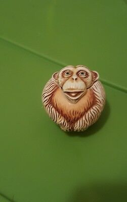 Harmony Kingdom Roly Poly - Dizzie - Monkey Trinket Box Figurine