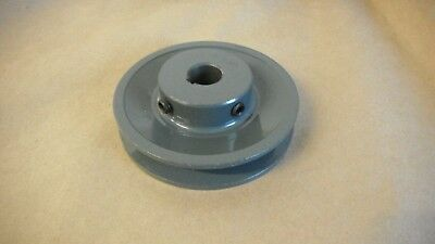 """3.25/"""" X 5//8/"""" Single Groove Fixed Bore /""""A/"""" Pulley # AK32X5//8"""