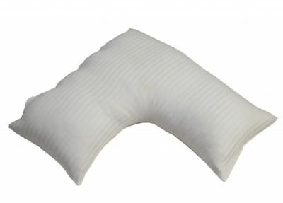 Egyptian Cotton V Shaped Pillow Cases Luxury 300 TC Satin Striped Pillow Cover