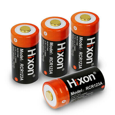 4PCS 16340 Li-ion Battery,Hixon CR123A Rechargeable Batteries for Arlo Camera