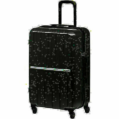 Qantas Bondi Medium 67cm Hardside Suitcase Silver 74067