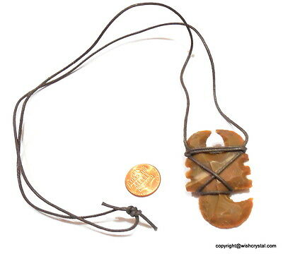 Scorpion Agate Arrow Head Necklace Beautifully Handcrafted Natural Stone