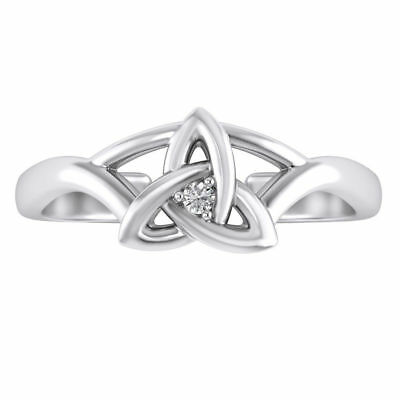 Well-Educated Celtic Toe Ring 14k White Gold Over 925 Sterling Silver Other Fine Rings