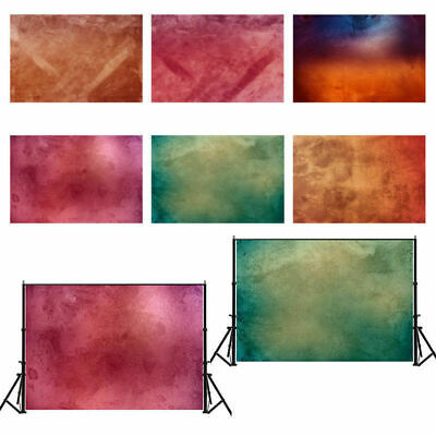 5x7ft UK Dyed Wall Vinyl Wood Floor Photography Backdrop Photo Background Video