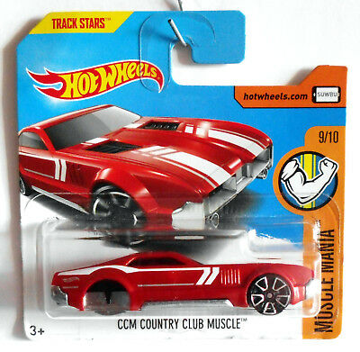 Hot Wheels Error CCM Country Club Muscle / HW Muscle Mania 2017 Series og.verp