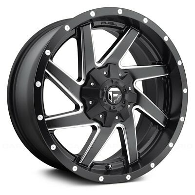 17x9 Black Fuel Krank Wheels 6x135 6x5 5 12 Lifted Chevrolet