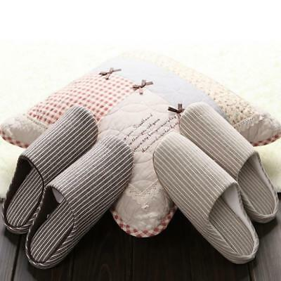 Japanese Silent Soft Slippers Floor Indoor Cotton Home nti Slip Warm Couple