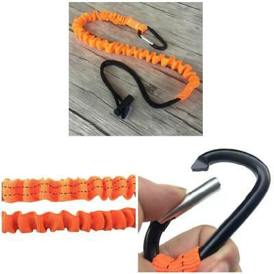 Carabiner Retractable Lanyard Safety Rope Telescopic Elastic Climbing Tool