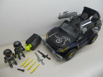 Top Agents ++++ Gangster SUV ++++++Playmobil