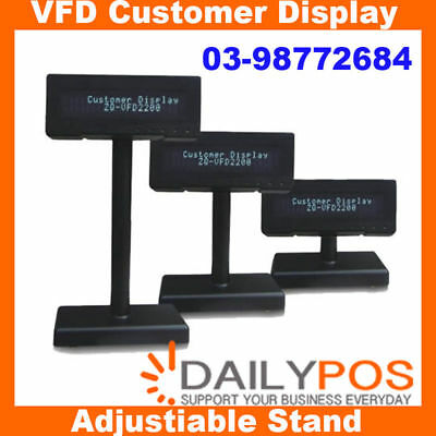 DailyPOS VFD Customer Display Screen for POS System Point of sale Cash Register