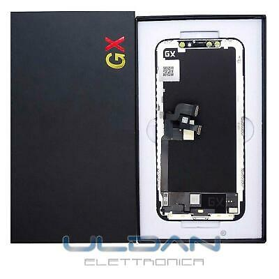 Lcd Display Oled Frame Per Apple Iphone X Touch Screen Vetro Schermo Nero