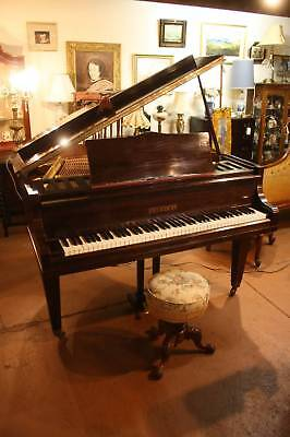 A Stunning Antique Baby Grand Piano by Renown Maker Feurich of Germany c.1920's
