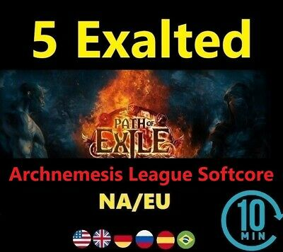 5 Exalted Orb - Delve League Softcore (Path of Exile EU/NA POE SC) 5ex