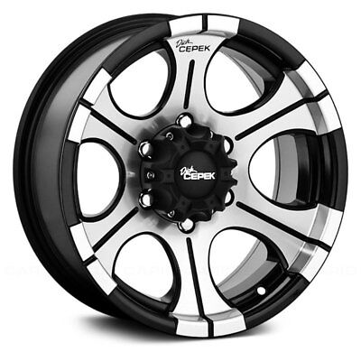Dick Cepek Dc 2 Wheels 15x8 21 5x114 3 83 82 Black Rims Set Of
