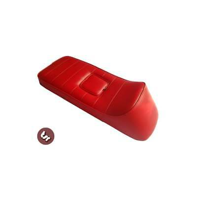 LAMBRETTA QUALITY TSR X-Race Seat Oxblood Red GP/SX/LI
