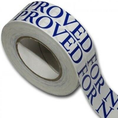Double Sided Exhibition Sticky Tape Floor Carpet Strong NEC Approved 50mm x 50m