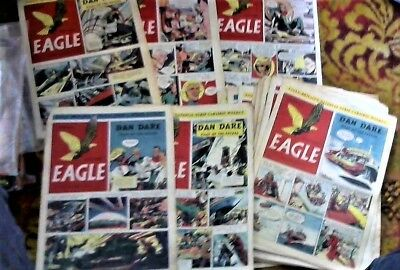EAGLE # 31-52 Volume 1 + Vol.2 # 1 + 2 Comics 1950/1951 23 issues nice condition