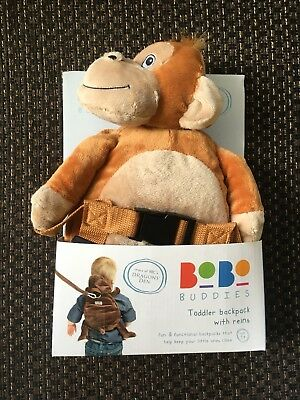 Bobo Buddies Toddler Mungo the Monkey backpack with reins