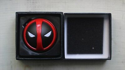 Deadpool Herb Grinder | 3 Piece Grinder by 4 Star Smoke with black gift box