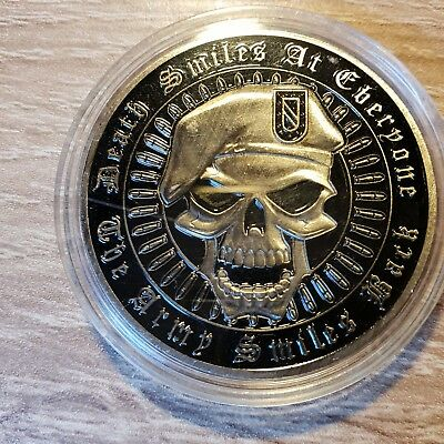 Massiver Army Smiles Back Challenge Coin