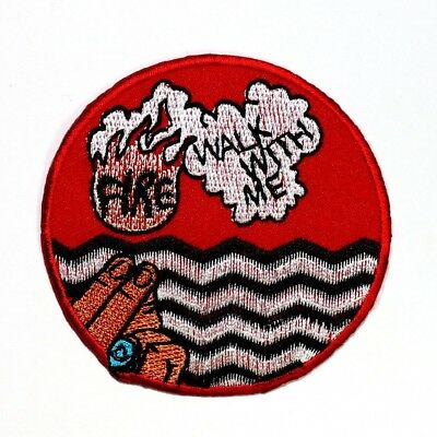 Twin Peaks 90s Horror Film Fire Walk with Me Emblem T-Shirt Jacket Iron on Patch