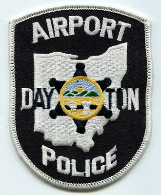 Dayton Ohio Airport Police Patch - OLD STYLE // FREE US SHIPPING!