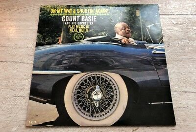 Count Basie and his Orchestra On my way and Shoutin again Vinyl LP Verve