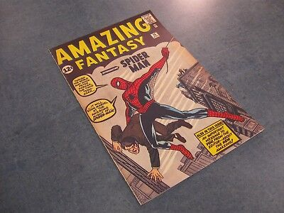 Facsimile reprint covers only to Amazing Fantasy #15 Steve Ditko