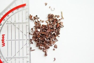 1 Pound of Copper Chops, Granulate, Fines - 99,95% pure - 2-4mm size