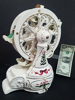 Collectible 2001 Avon Holiday Classic Porcelain Ferris Wheel Original Package!!!