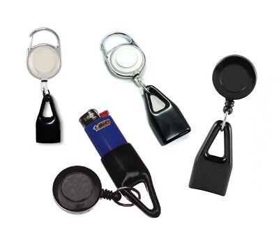 Pull Out Retractable Lighter Lasso Leash Clip Secure Holder Clipper Bic Usb