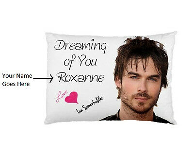 CHARLIE HUNNAM Dreaming of You Personalized custom made bed pillow case
