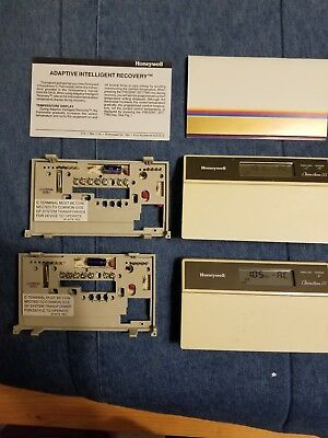 2 Honeywell Thermostat Chronotherm Iii T8601c1047 Adaptive Intelligent Recovery 60 00 Picclick