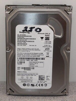 "Seagate Internal Desktop Hard Drive HDD 250GB 3.5"" 7200 RPM SATA Fully Tested"