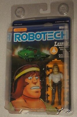 ROBOTECH Anime Japan Figurines COMPLETE IN PACKAGE NEW Lunk Irwin Matchbox