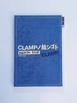 Clamp North Side Original Japanese Manga Art. Highly Collectible.