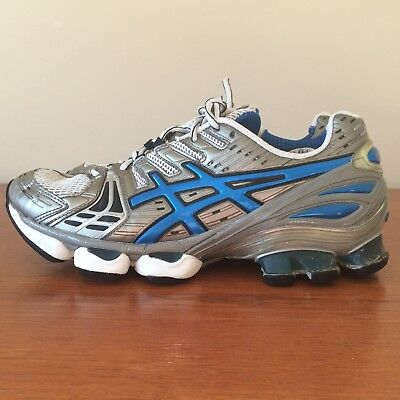 bdc1caf72a94 ASICS GEL KINSEI 2 TN749 Men s Size 8.5 athletic running shoe sneakers Gray  Blue -  35.00