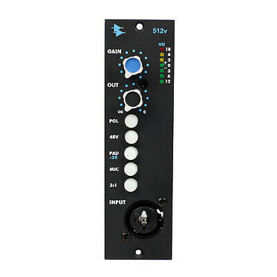 API 512v Discrete Microphone / Line Preamp with Variable Output