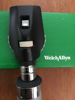 Welch Allyn REF 11610 3.5V Standard Ophthalmoscope Head - New Lamp