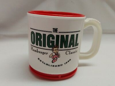 big boy restaurant mini max coffee cup mug w/lid
