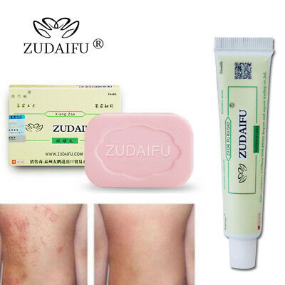 Chinese Herbal Formula Ointment & Sulfur Soap for Skin Problems Antibacterial