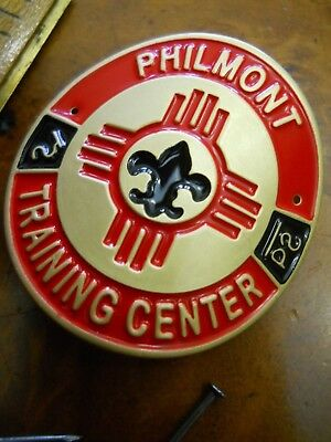 Philmont Training Center Hiking Staff Medallion (New In Package)