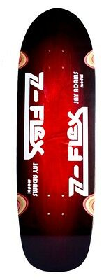 "Z Flex - Jay Admas Pool Shape Red 9.5"" Sakteboard Deck"