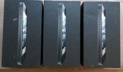 3x iPhone 5 16gb & 64gb BOXES ONLY