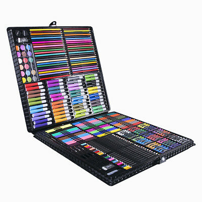 Professional Art Box 288 Pieces Premier Sketching Drawing Craft Kids Xmas Gift