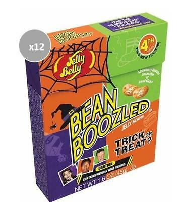 913399.12 12X 45G Boxes Of Bean Boozled Trick Or Treat Jelly Beans Halloween