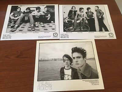 The All American Rejects  Lot of 3 Original Press Photos