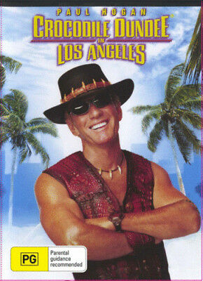 Crocodile Dundee 3 In Los Angeles DVD New and Sealed Australia All Regions